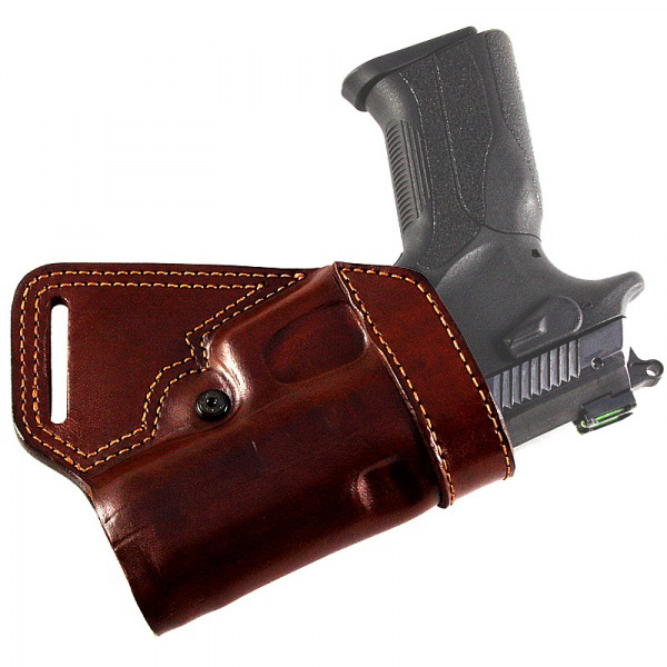 Small of Back Leather Belt Gun Holster | Falco Gun Holsters